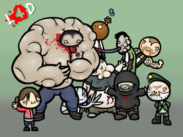 Left 4 Dead by Urser