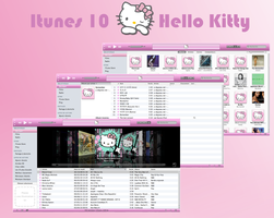 My Hello Kitty theme Itunes by LadyPinkilicious