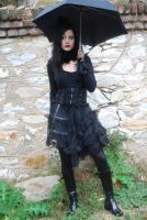 Gothic Girl3 by ftourini-stock