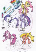 Fighting is Magic by PinkiePieLovely