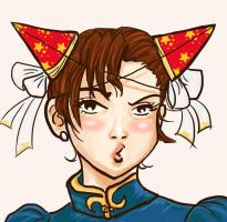 Chun li's birthday by daliciously