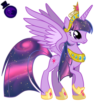 Princess Twilight Sparkle, The Alicorn by HeartStringsXIII
