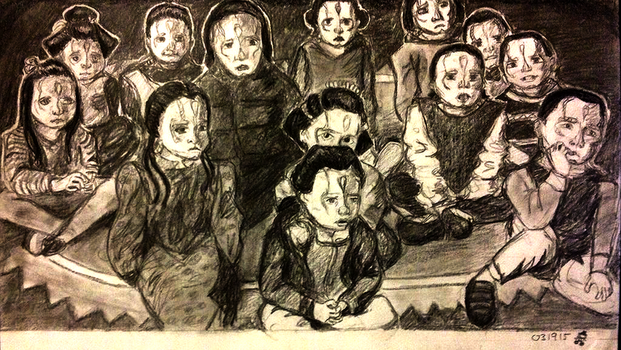 Cardassian Kindergartners by MizuPics