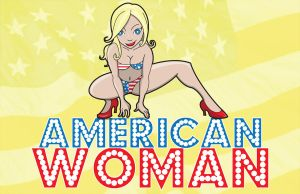 Pin Up Girl: American Woman by ViciousJulious