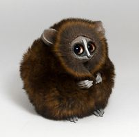 Bush Baby Spirit Creature by RamalamaCreatures