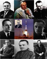 Cosmonautics Day - Sergei Korolev by Mihenator