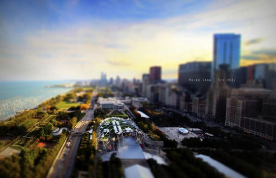 Downtown Chicago by Rana-Rocks