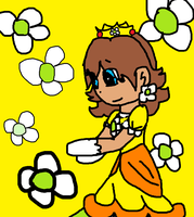 Daisy colored lineart by PrincessaaDaisy12 by PrincessDaisyRocks10