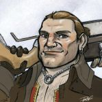 Varric by RobtheDoodler
