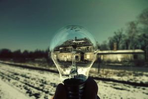 Bulb Fiction I by CrawlingGirl