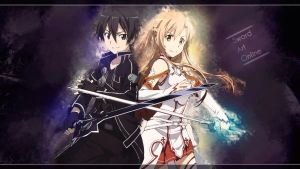 Wallpaper - Sword Art Online by JuliannMiic