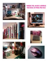 The Desk of PinkP by PinkPigtails