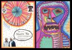 Mailart to S T by JimmyMcCullough
