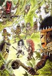 Surrounded by jungle-men by HaakonLie