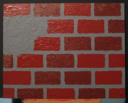 This is the Brick Wall I Keep Butting My Head... by DiabolicalRob