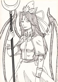 Sketch Game II: Mima by Tres-Iques