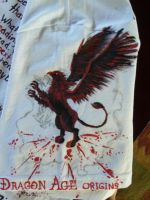 Dragon Age T-shirt, sleeve by Shadowfax999