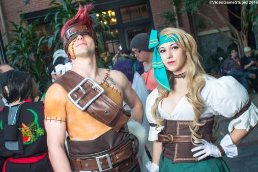 Katsucon 2016 - Blank and Ruby by VideoGameStupid