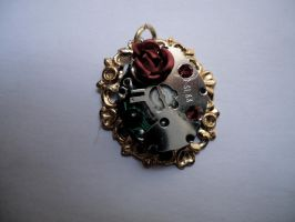 Victorian SteamPunk Pendant by KatherineEvans17