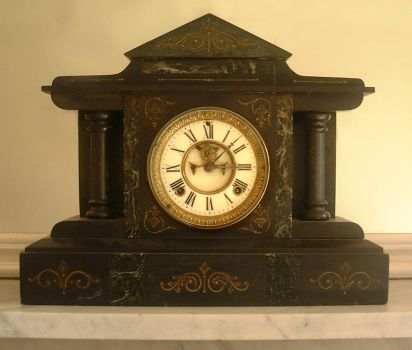 The Mantel Clock by tia-stock