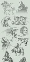 Sketch Compilation 2Q2012 by Lizkay