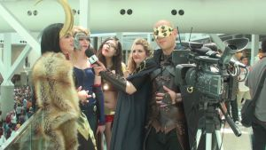 One-Man Team interviewed the lady Avengers by trivto