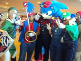 sonic and mario group 2 by spartan049820