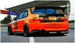 Honda Civic Time Attack by 1R3bor