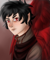 A Featherbent Karkat by aphaire