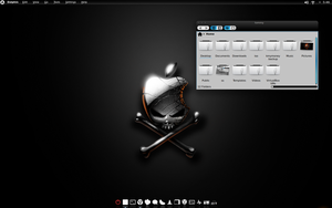 Arch Linux KDE 4.8 by CraazyT