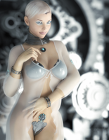 Gynoid 0x4E by TweezeTyne
