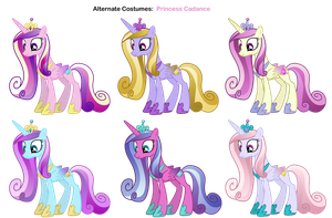 FiM skins: Princess Cadance by Pika-Robo