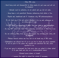 Contest Rules by Stormweaver-Arts