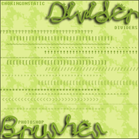 divider brushes by chokingonstatic