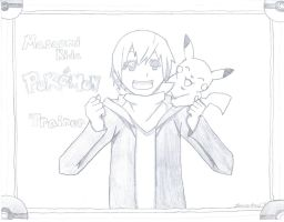 Masaomi Kida: Pokemon Trainer by MiruruLove