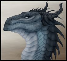 Blue Dragon by Gul-reth