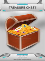 Treasure Chest Icon by Tooschee