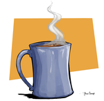 July Challenge #3 Mug of Coffee by Pencil-snap