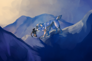 Tsula Initiation: Up and Over the Mountain by Kieath