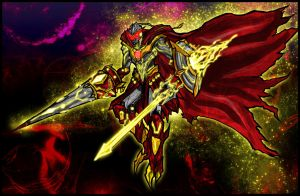 Examon Gawain: The Crimson Sun by Kiarou