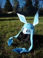 Glaceon Hat by fireflytwinkletoes