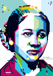 R.A. Kartini in wpap by mbleg25