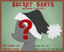 Brony Secret Santa --- Come one, Come all! by Balloons504