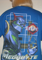 Megabyte shirt by ChristineFrollophile