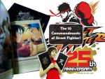 Street Fighter 25th Anniversary Artbook by chloebs