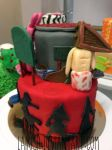 Welcome to Silent Hill cake, Fullview! by LaIrish
