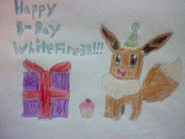 2nd B-Day Drawing for Whitefire33 by nintendolover2010