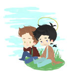 destiel maybe by cocoamebuns