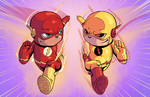Flash Vs Reverse Flash by J-Skipper