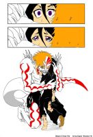 Hollow Ichigo and Rukia by Goddess-of-Imaginary